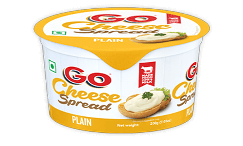 Go Plain Cheese Spread
