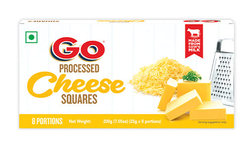 Go Processed Cheese Square
