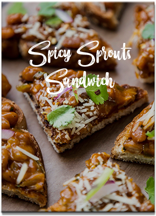 Spicy Sprouts Sandwich