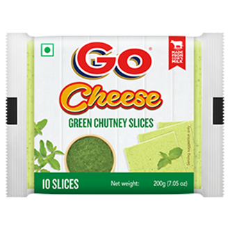 Go Green Chutney Cheese Slice