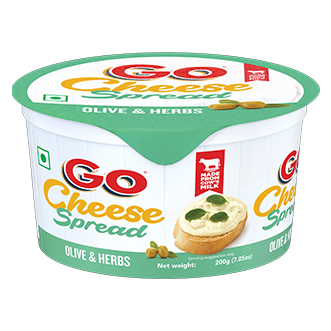 Go Olive and Herbs Cheese Spread
