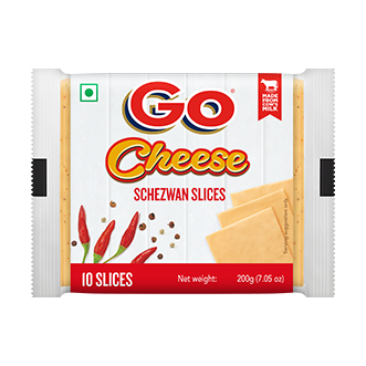 Go Schezwan Cheese Slice